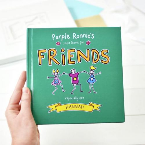 Personalised Purple Ronnie's Little Poems for Friends